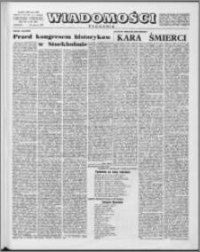 Wiadomości, R. 15 nr 26 (743), 1960