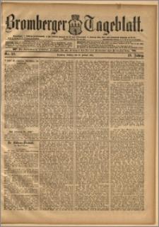 Bromberger Tageblatt. J. 19, 1895, nr 36