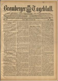 Bromberger Tageblatt. J. 19, 1895, nr 42