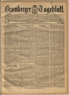 Bromberger Tageblatt. J. 19, 1895, nr 90