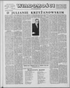 Wiadomości, R. 15 nr 30 (747), 1960