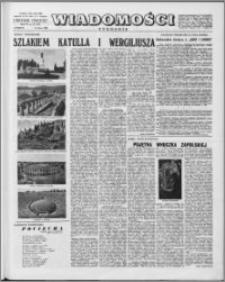 Wiadomości, R. 15 nr 31 (748), 1960