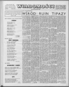Wiadomości, R. 15 nr 32 (749), 1960