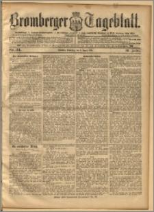 Bromberger Tageblatt. J. 19, 1895, nr 184