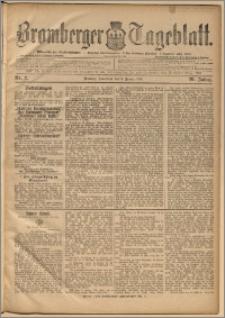 Bromberger Tageblatt. J. 20, 1896, nr 2