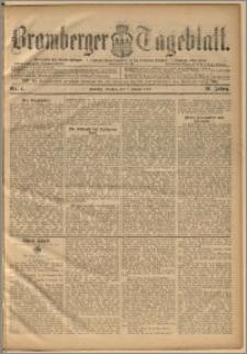 Bromberger Tageblatt. J. 20, 1896, nr 4