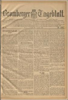 Bromberger Tageblatt. J. 20, 1896, nr 8