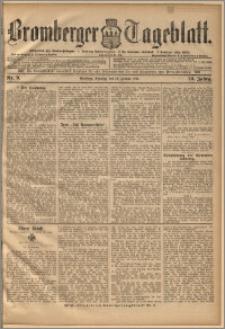 Bromberger Tageblatt. J. 20, 1896, nr 9