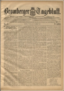 Bromberger Tageblatt. J. 20, 1896, nr 16