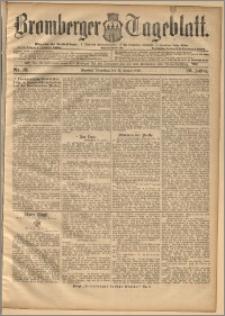 Bromberger Tageblatt. J. 20, 1896, nr 18