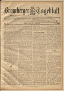 Bromberger Tageblatt. J. 20, 1896, nr 19