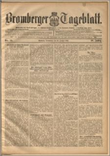 Bromberger Tageblatt. J. 20, 1896, nr 20