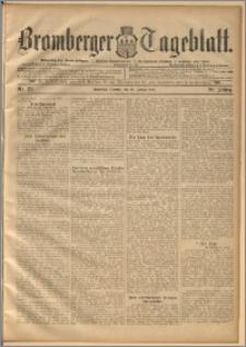 Bromberger Tageblatt. J. 20, 1896, nr 22