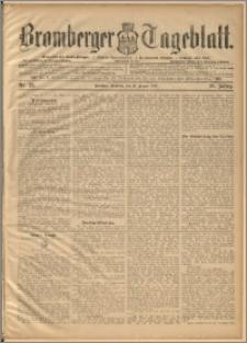 Bromberger Tageblatt. J. 20, 1896, nr 23