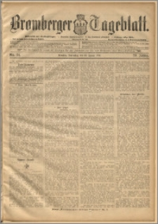Bromberger Tageblatt. J. 20, 1896, nr 24
