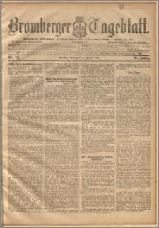 Bromberger Tageblatt. J. 20, 1896, nr 28