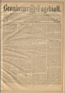 Bromberger Tageblatt. J. 20, 1896, nr 29