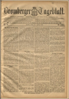 Bromberger Tageblatt. J. 20, 1896, nr 31