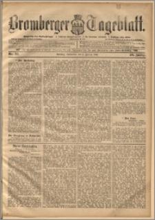 Bromberger Tageblatt. J. 20, 1896, nr 32
