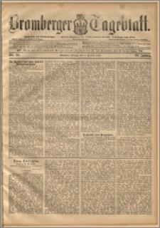 Bromberger Tageblatt. J. 20, 1896, nr 34