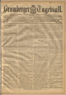 Bromberger Tageblatt. J. 20, 1896, nr 43
