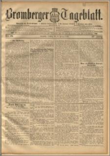 Bromberger Tageblatt. J. 20, 1896, nr 46