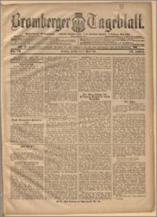 Bromberger Tageblatt. J. 20, 1896, nr 79