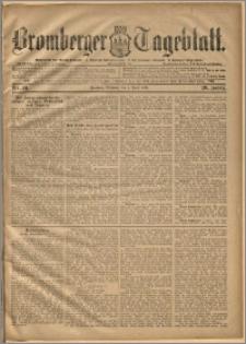 Bromberger Tageblatt. J. 20, 1896, nr 81