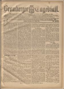 Bromberger Tageblatt. J. 20, 1896, nr 82