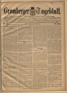 Bromberger Tageblatt. J. 20, 1896, nr 83