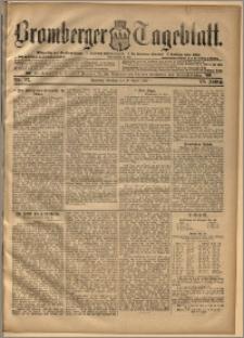 Bromberger Tageblatt. J. 20, 1896, nr 92
