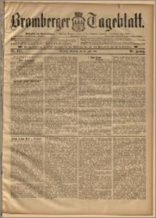 Bromberger Tageblatt. J. 20, 1896, nr 175