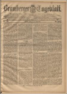 Bromberger Tageblatt. J. 20, 1896, nr 189