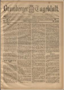 Bromberger Tageblatt. J. 20, 1896, nr 192