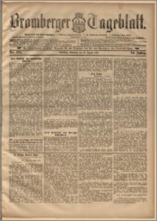 Bromberger Tageblatt. J. 20, 1896, nr 193