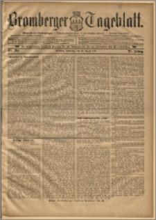 Bromberger Tageblatt. J. 20, 1896, nr 194
