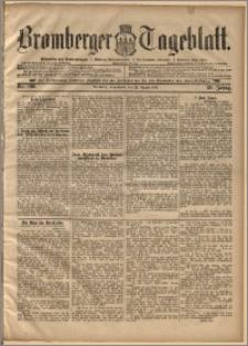 Bromberger Tageblatt. J. 20, 1896, nr 196