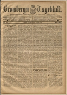 Bromberger Tageblatt. J. 20, 1896, nr 218