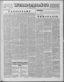 Wiadomości, R. 14 nr 1 (666), 1959