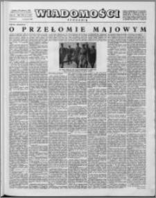 Wiadomości, R. 14 nr 2 (667), 1959