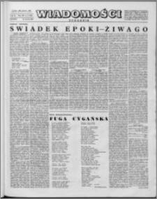 Wiadomości, R. 14 nr 3 (668), 1959