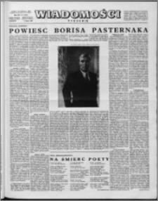 Wiadomości, R. 14 nr 5 (670), 1959