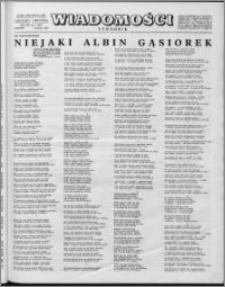 Wiadomości, R. 14 nr 7 (672), 1959