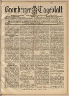 Bromberger Tageblatt. J. 21, 1897, nr 199