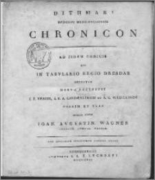 Dithmari episcopi Merseburgensis Chronicon