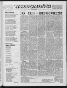 Wiadomości, R. 14 nr 16 (681), 1959