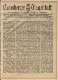 Bromberger Tageblatt. J. 22, 1898, nr 49