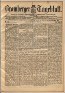Bromberger Tageblatt. J. 22, 1898, nr 81