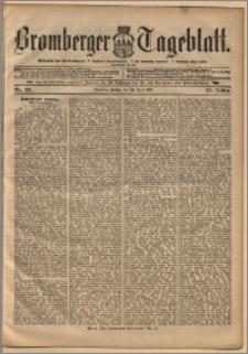 Bromberger Tageblatt. J. 22, 1898, nr 93