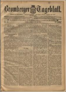 Bromberger Tageblatt. J. 22, 1898, nr 96